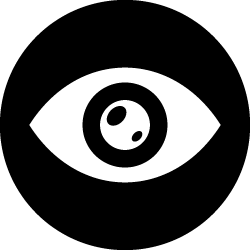 Icon for eye health