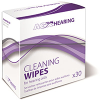 AGX Hearing Aid Cleaning Wipes